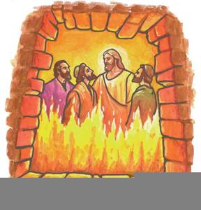 Fiery Furnace Clipart.