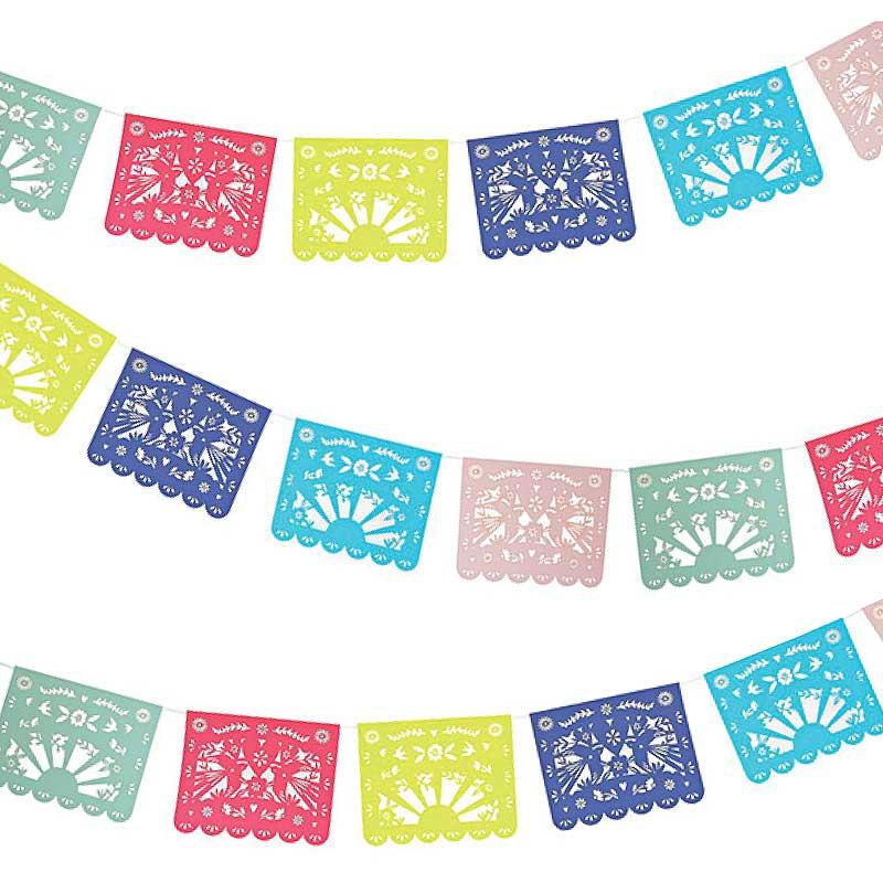 Fiesta Party Garland Meri Meri Fiesta Banner Mexican Folk.