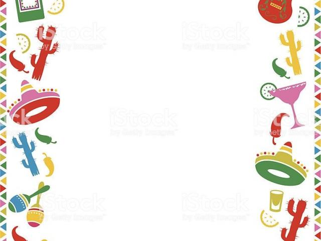 Fiesta Borders Cliparts 6.