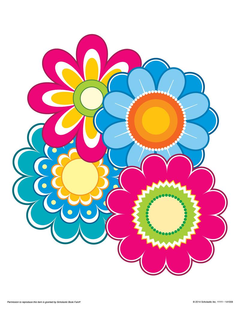 Fiesta Clipart Flowers.