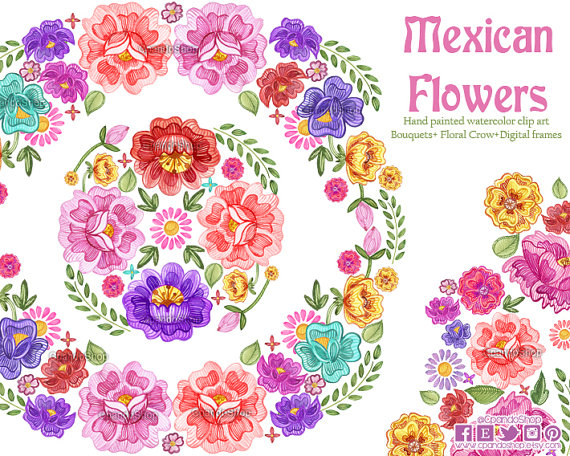 Free Floral Spanish Cliparts, Download Free Clip Art, Free.