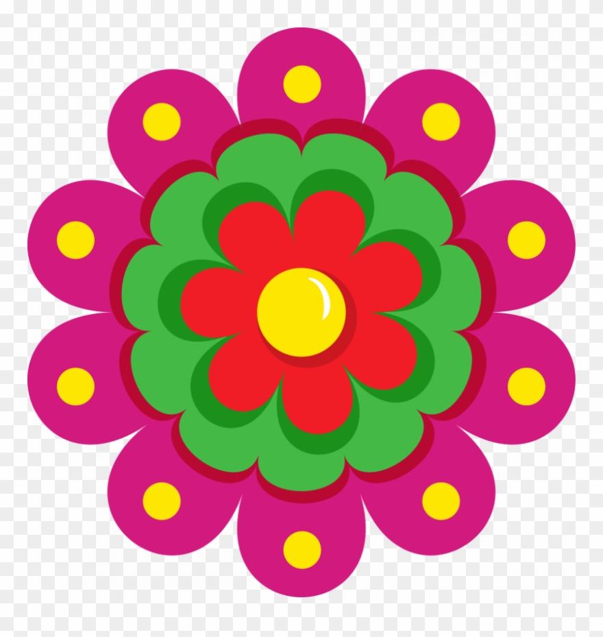 Fiesta Flower Clipart.