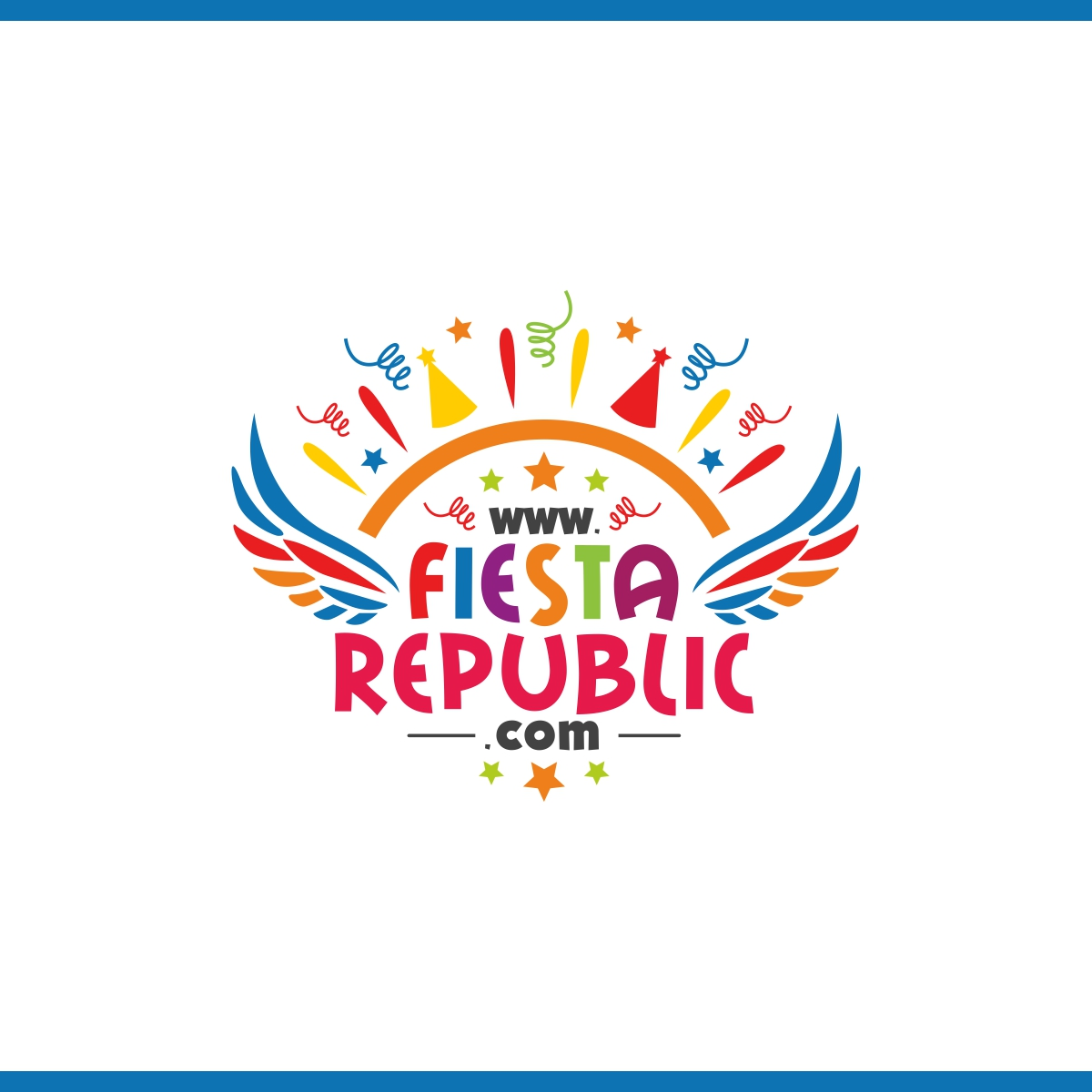 "Playful, Modern, Party Planning Logo Design for ""Fiesta."