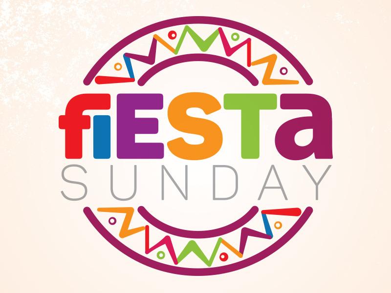 Fiesta Sunday Logo by Justin Ellis on Dribbble.