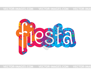 Abstract logo for Fiesta.