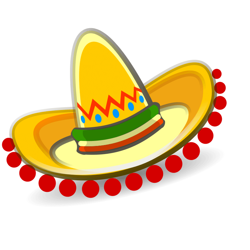 Mexican fiesta party clip art clipart.
