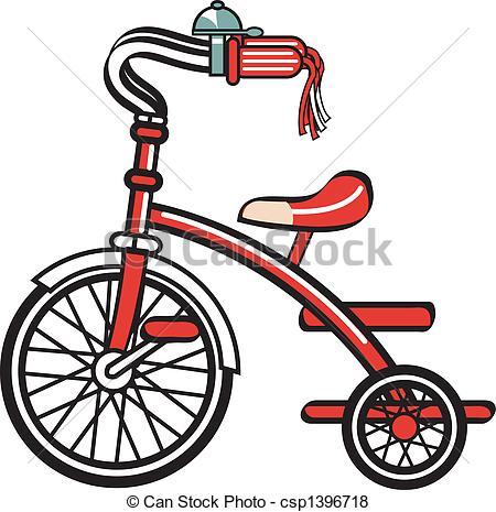 Vector van fiets, Fiets, trike, Clipart, driewieler.