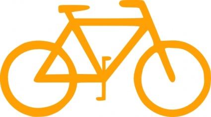 Lunanaut fiets teken symbool glinsterende clip art clip arts.