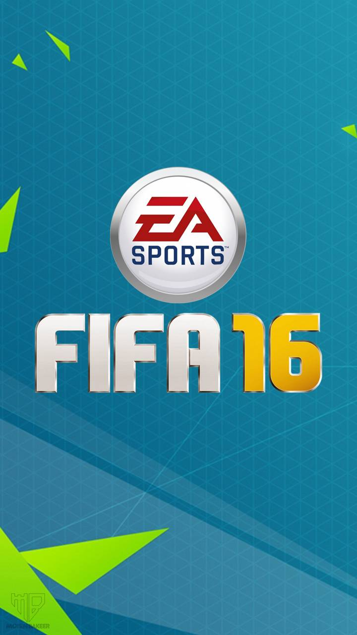 FIFA 16 Logo wallpaper by Bakeer707.
