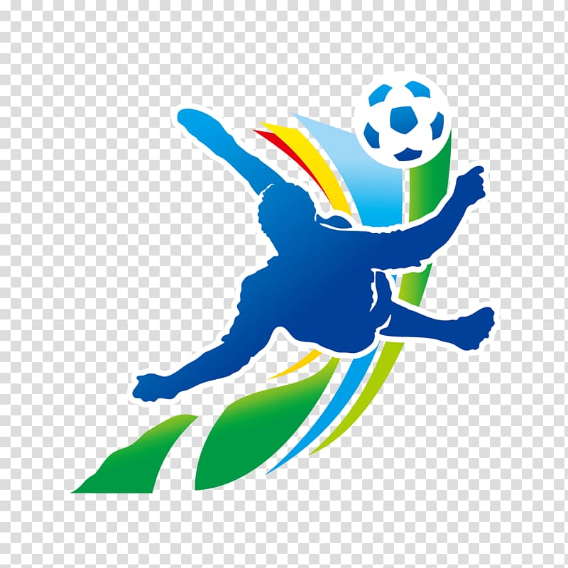 Sports logo illustration, 2014 FIFA World Cup Brazil.