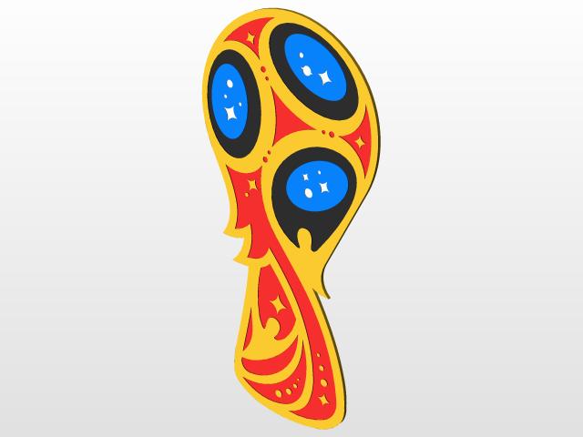 FIFA World Cup 2018 Logo.