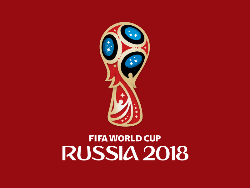 Fifa World Cup 2018 logo in vector by Claudia Driemeyer for Gravit.