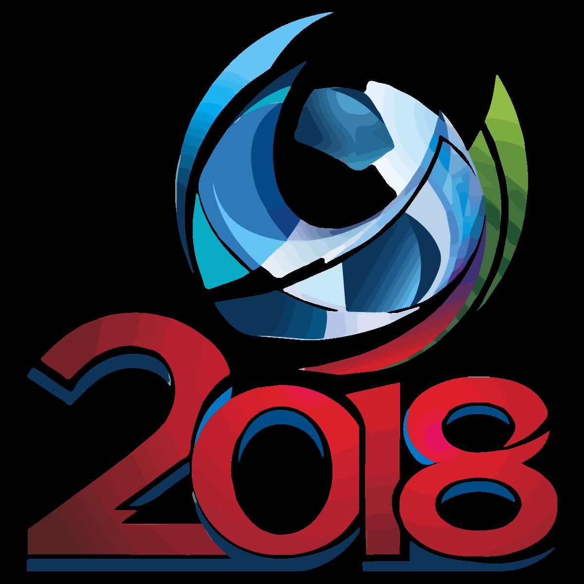 FIFA World Cup Russia 2018 Football Logo Vector.
