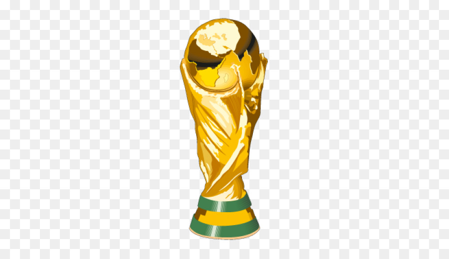 World Cup Trophy Cartoon clipart.