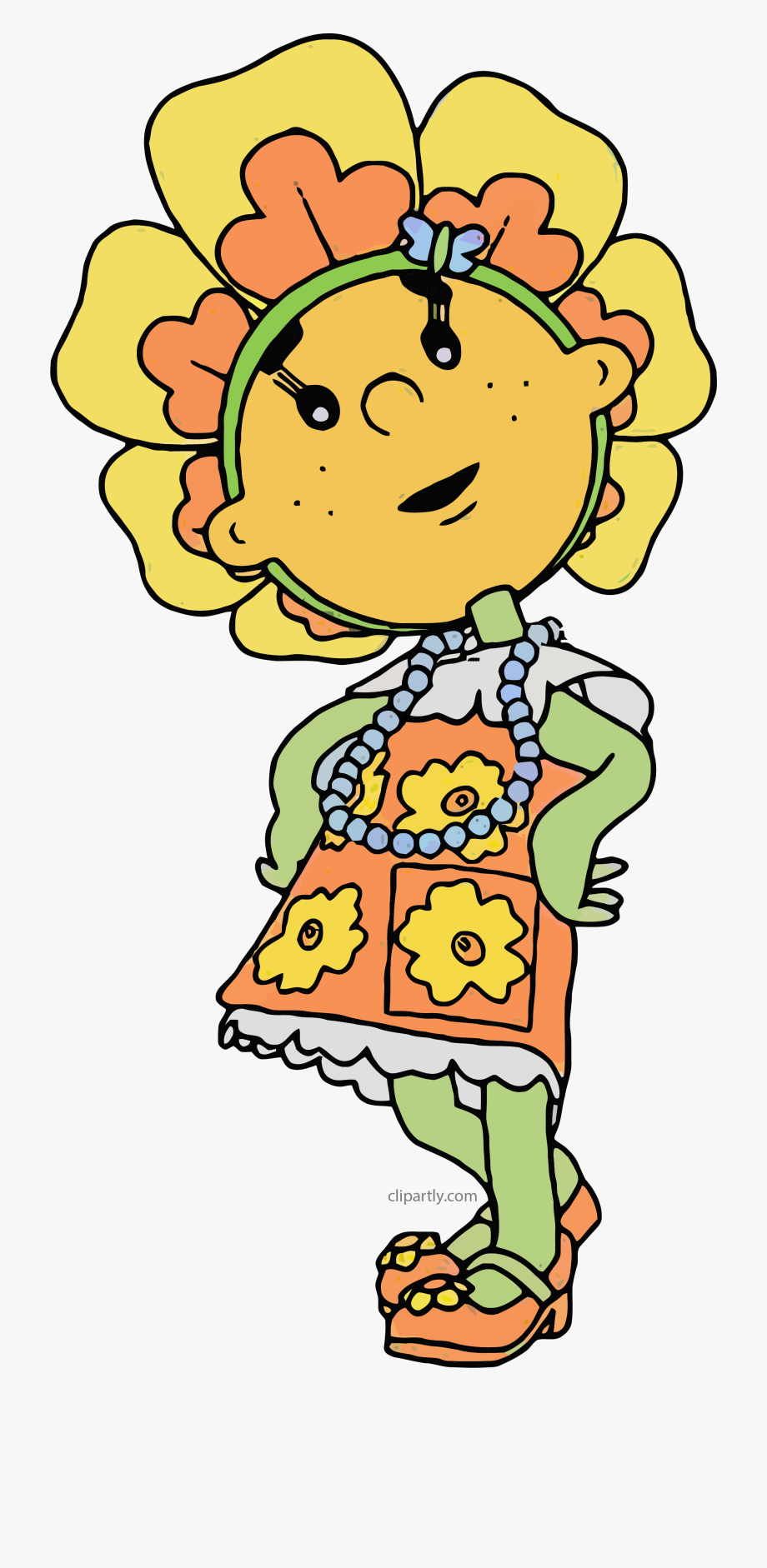 Primrose Fifi And The Flowertots Clipart.