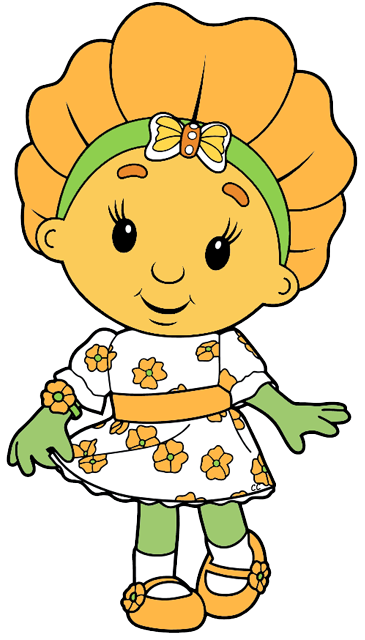 Fifi and the Flowertots Clip Art.