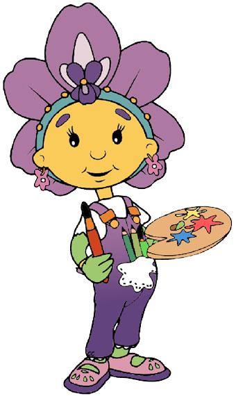 Image result for fifi and the flowertots violet.