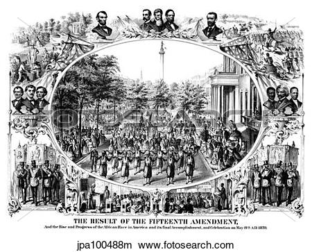Drawings of Digitally restored Civil War print of The Fifteenth.
