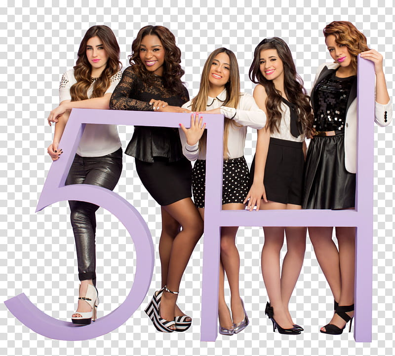 Fifth Harmony, H girl group transparent background PNG.