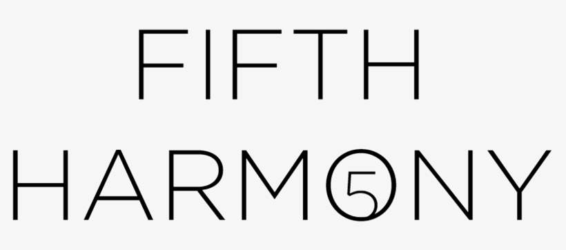 Fifth Harmony Logo White Png.