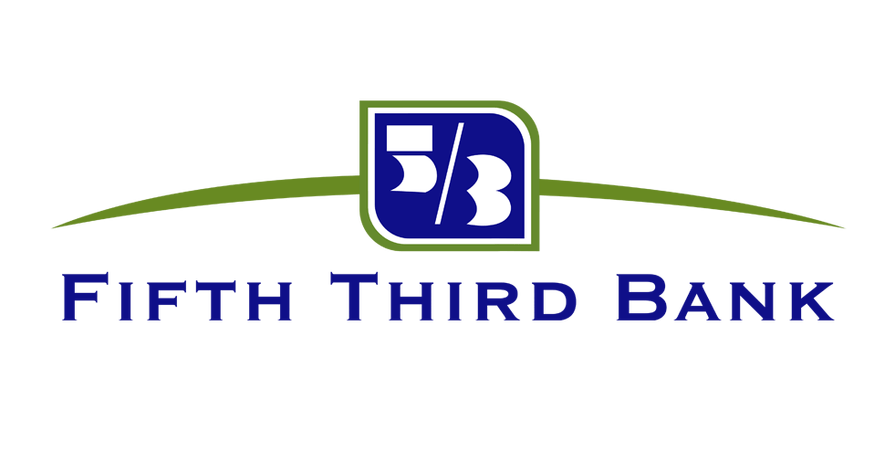 Fifth third bank logo no background.