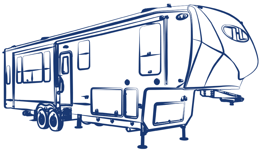Fifth Wheels, Toy Haulers & Travel Trailers.