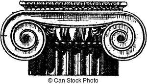 Clipart Vector of Fig. 1. Steelyard, vintage engraving..