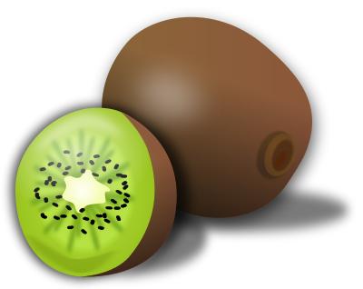 Free Kiwi Fruit Clipart, 1 page of Public Domain Clip Art.