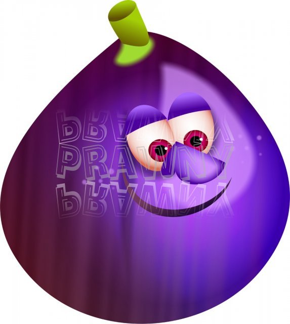 Fig fruit clipart.