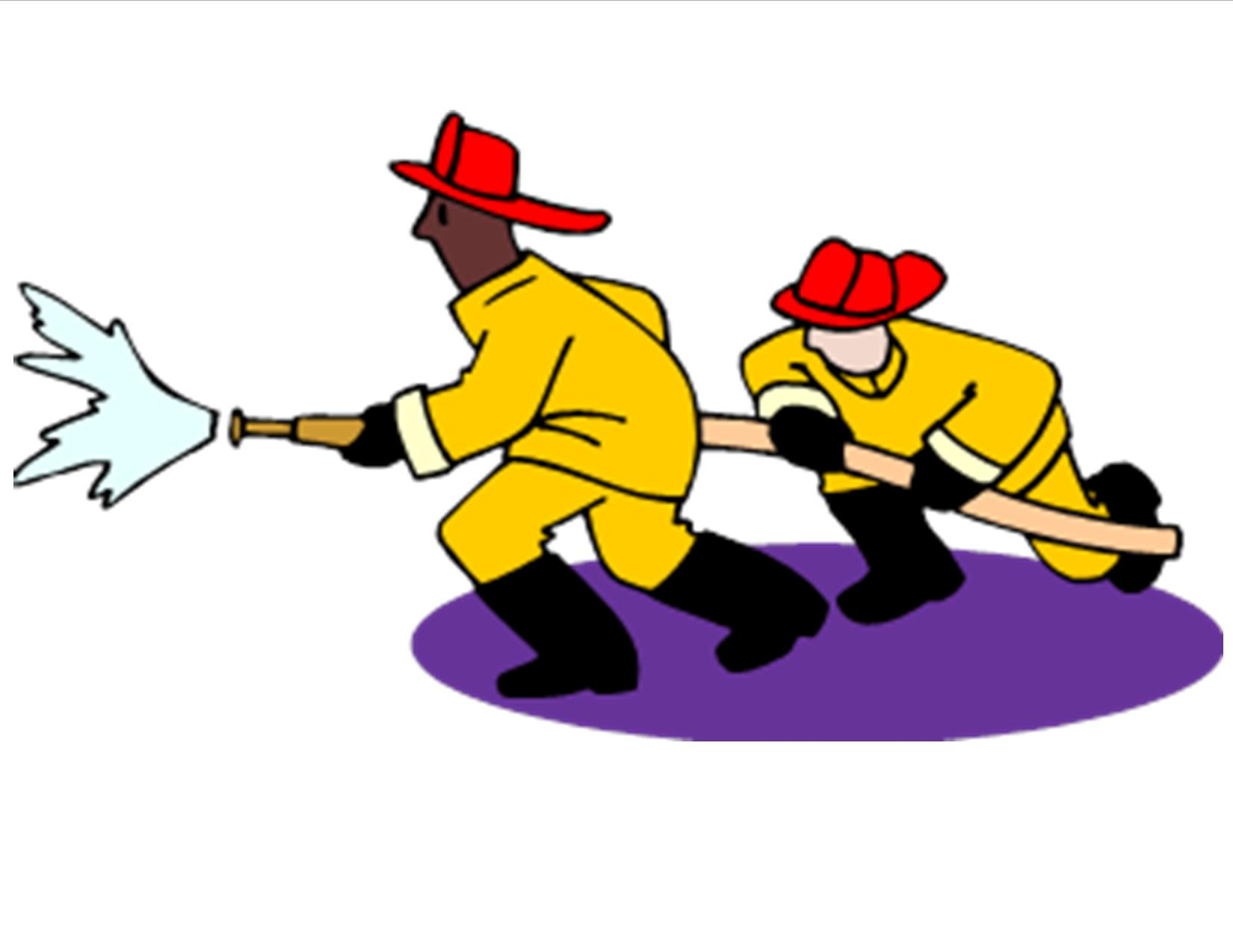 Fire Fighter Clipart.