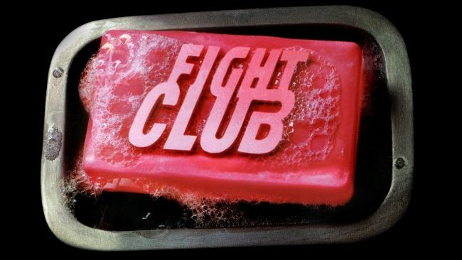 Download 1920x1080 HD Wallpaper fight club logo foam.