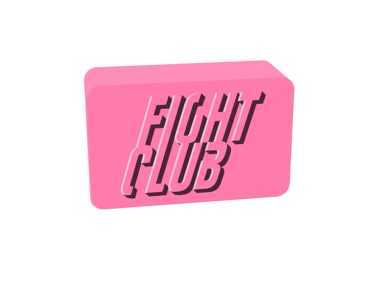 Fight Club by María Marchesi on Dribbble.