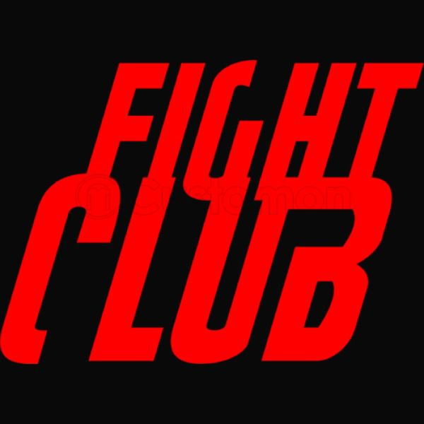 Fight Club Logo Apron.