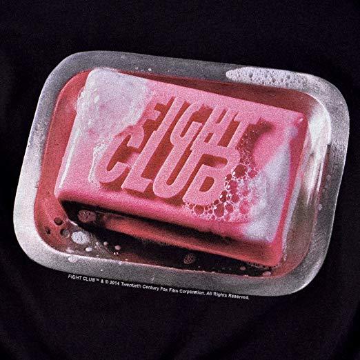 Amazon.com: Popfunk Fight Club Movie Soap Logo T Shirt.