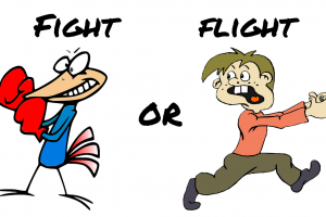 Fight or flight clipart 1 » Clipart Station.