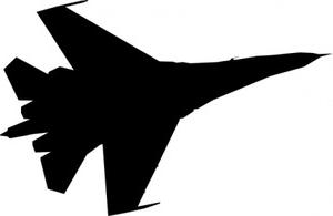 Clipart fighter plane.