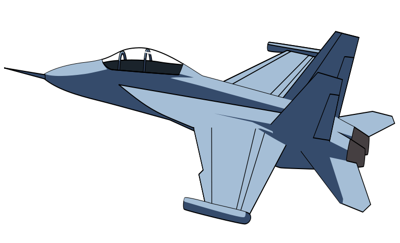 Fighter jet clipart - ...