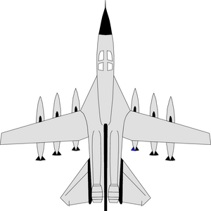 Fighter jet clipart.