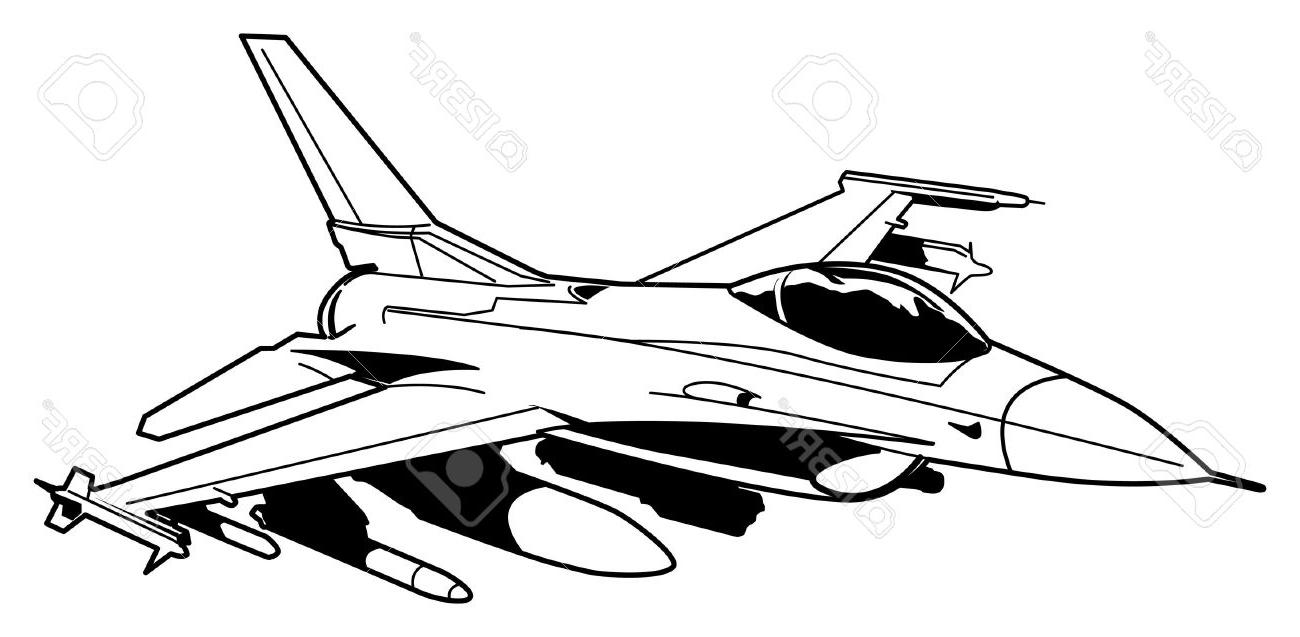 Jet Fighter Sketch at PaintingValley.com.