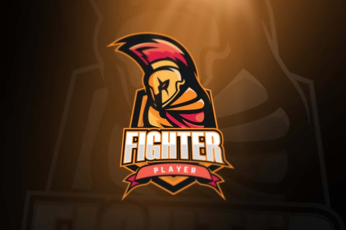 Fighter Sport and Esports Logos by ovozdigital on Envato Elements.