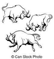 Spanish fighting bull Clipart and Stock Illustrations. 164 Spanish.