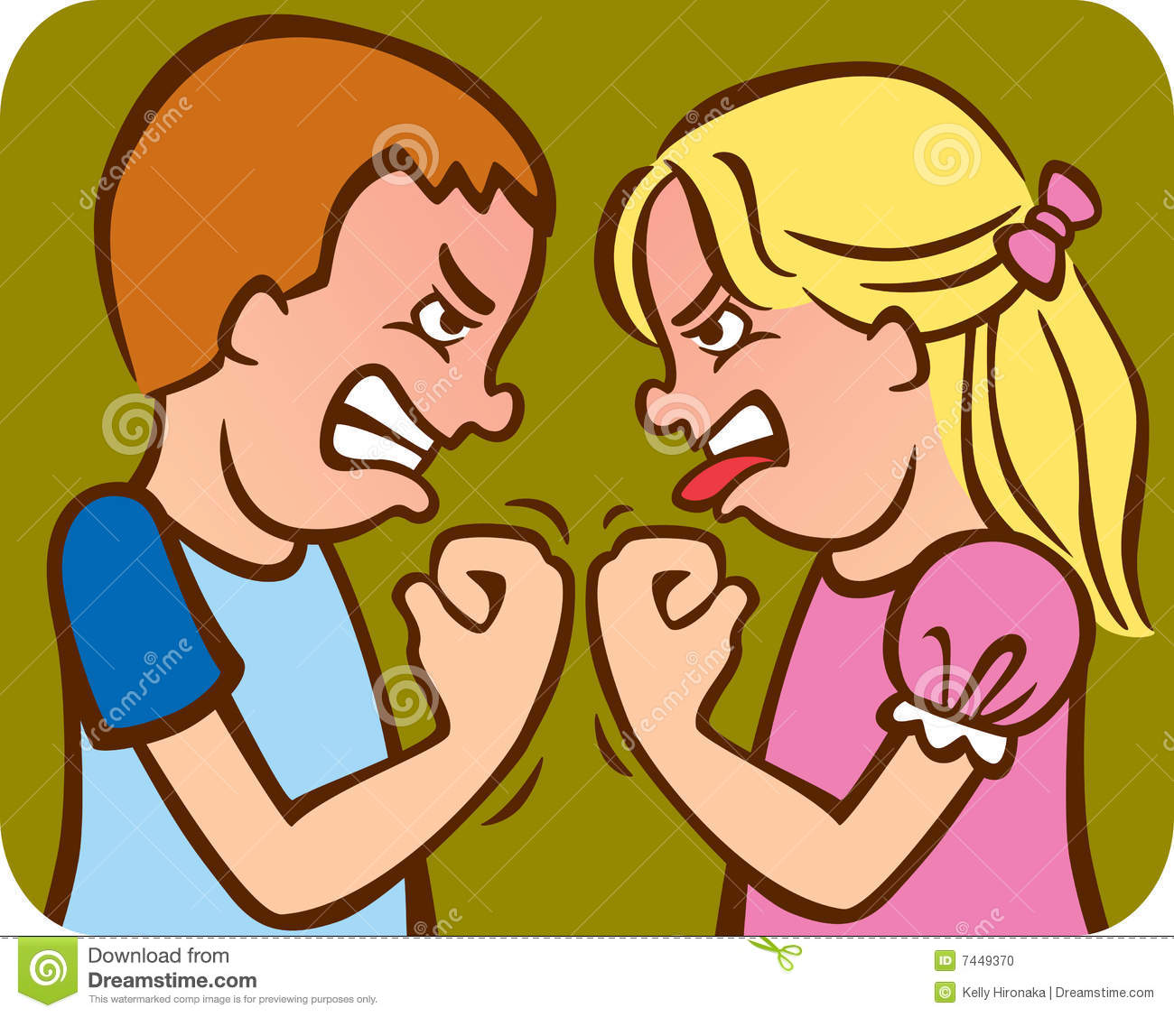 No Fighting Clipart.
