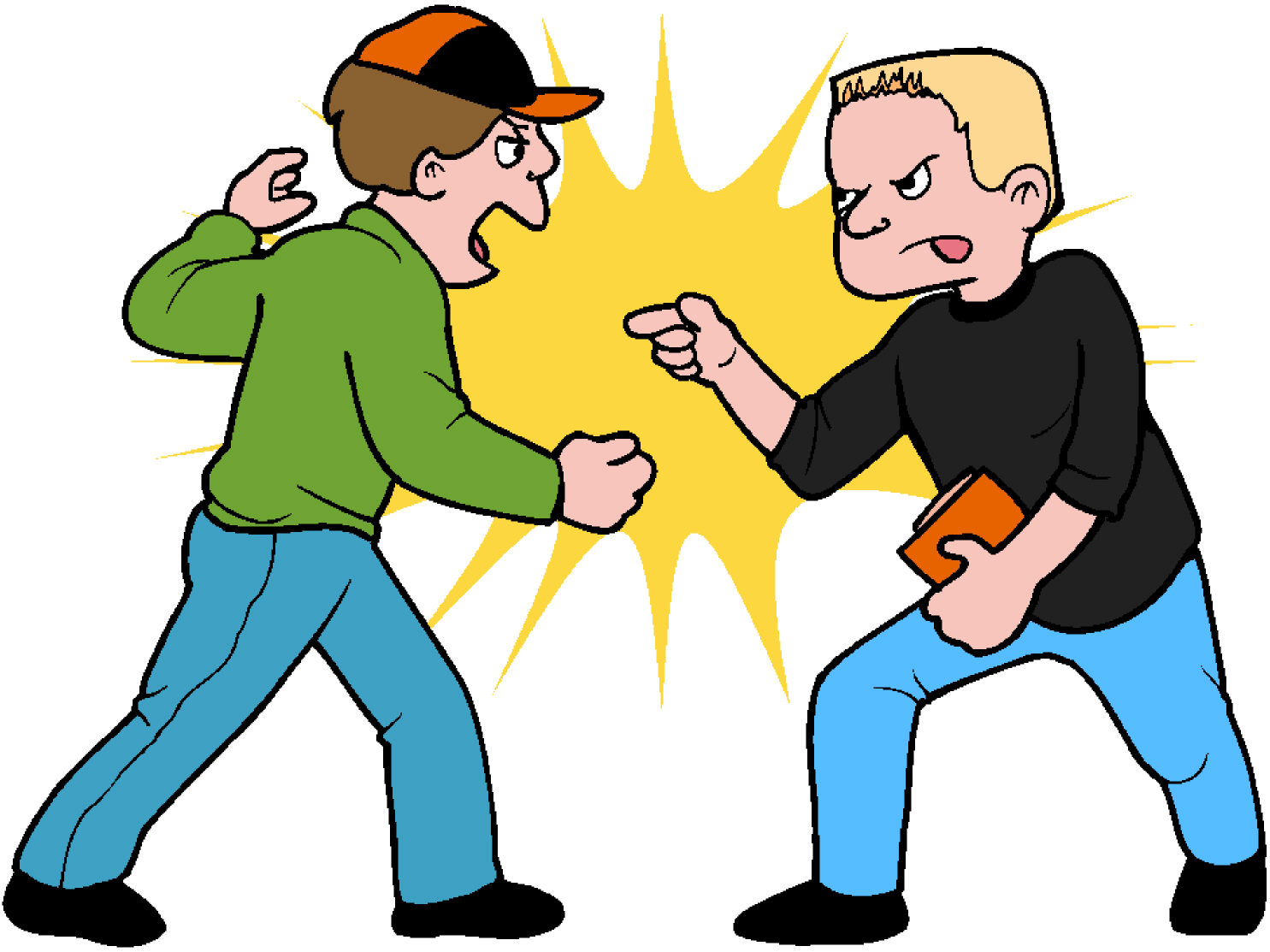Fighting Clip Art Free.