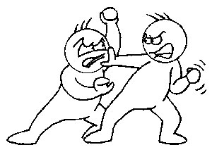 Free Fighting Clipart Black And White, Download Free Clip.