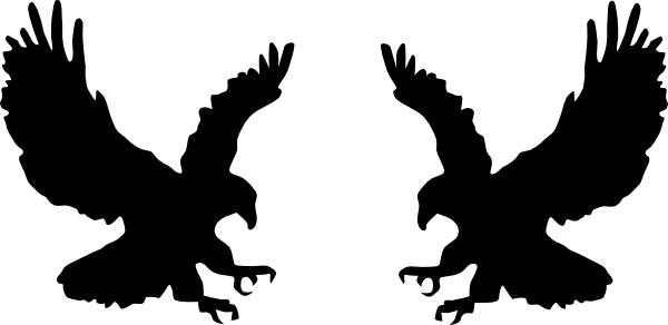 Fighting Eagles Clip Art at Clker.com.