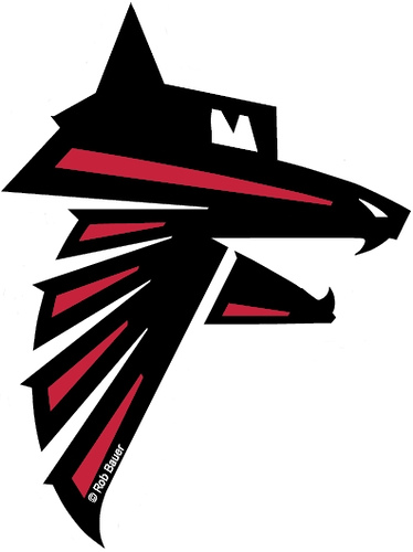 Atlanta falcons football clipart.