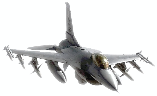 F 16 Fighting Falcon Clipart.