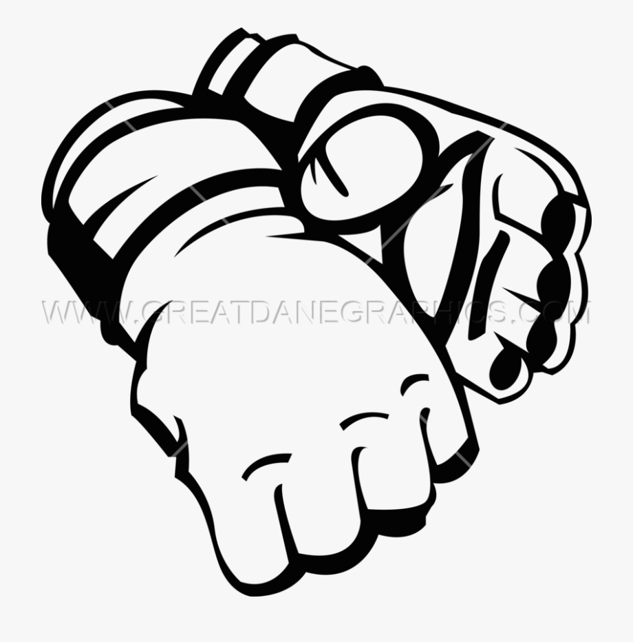 Mma Gloves Clipart , Transparent Cartoon, Free Cliparts.