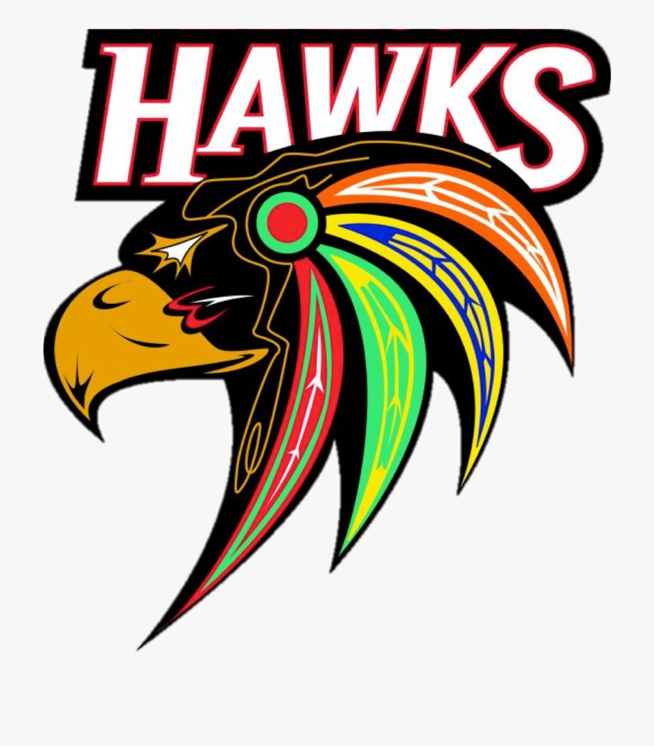 Fighting Hawks Logo , Transparent Cartoon, Free Cliparts.