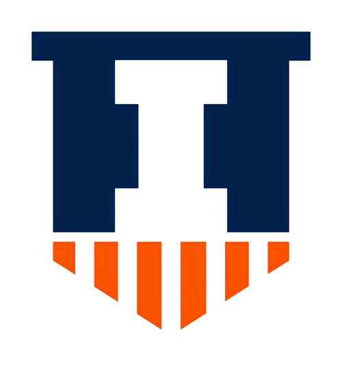 sports team rebrand. University school sports branding.